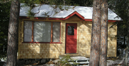2 room bunkie with cedar shingles